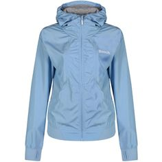 Bench Onetoomany Hoodie ($72) ❤ liked on Polyvore featuring tops, hoodies, blue, women, zippered hooded sweatshirt, blue top, zip hoodie, sweatshirt hoodies and blue hooded sweatshirt