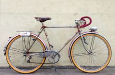 1940's Vintage 650B French Randonneur Touring City Bicycle 54cm MAFAC Simplex