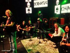 Kings acoustic soundcheck... #ILoveMyFriends