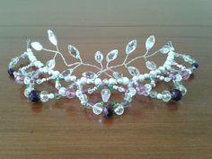 Lilac fairy tiara by Gemma