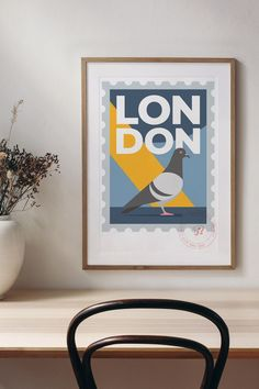 Looking for unique gift ideas? This London city travel poster can be customised with the text of your choice creating the perfect memory of a special time or event. CLICK THE IMAGE to buy now, from just £20 with FREE UK delivery. #UniqueGiftIdeas #London #HomewareGifts #LondonMemorabilia #GiftsForHim