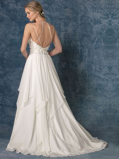 13b949280d Beloved by Casablanca Bridal Style BL234 Calypso Walking Down The Aisle