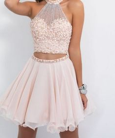 2 Piece Homecoming Dress,Short Homecoming Dresses,Tulle Homecoming Gown,Blush Pink Homecoming Dress,Beautiful Prom Gown Beautiful Homecoming Dress Blush Homecoming Dress Prom Dress Pink Homecoming Dress Two Piece Prom Dress Prom Dresses 2019 Dresses Short, Hoco Dresses, Blush Dresses, Dresses For Teens, Sexy Dresses, Cute Dresses, Prom Gowns, Dresses Online, Evening Gowns