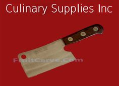 Kom Kom # 860A Specialty Knife, Wood Handle Kom Kom # 860 Kitchen Cutlery 6 Knife [8851130060806] : Culinary Supplies Knives Garnish Tools Fruit Carving Supplies