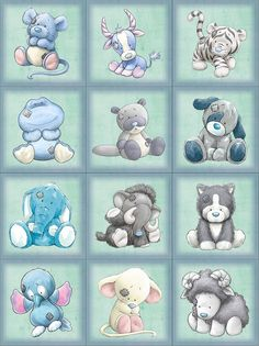 Tatty teddy - my blue nose friends Tatty Teddy, Blue Nose Friends, Cute Drawings, Animal Drawings, Cute Images, Cute Pictures, Baby Animals, Cute Animals, Baby Art