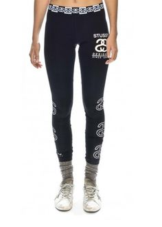 Stussy Service Legging ST152605 in Black #stussy #beautiful #fashion