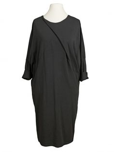 Damen Baumwollkleid, grau von Diana bei www.meinkleidchen.de
