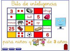 """Recursos Educativos de Educación Infantil: """"Bits de inteligencia"""""""