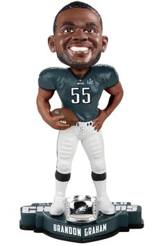 Brandon Graham Philadelphia Eagles Super Bowl LII Champions Bobblehead  Eagles Steelers 5a72fe0e5