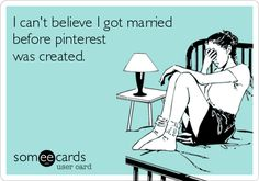 """Haha these people should get a """"Pinterest Wedding Do-over!"""""""