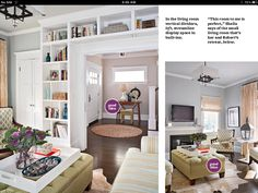 Think I'll incorporate the shelf idea into one of our remodel projects, would fit perfectly in entrance space.