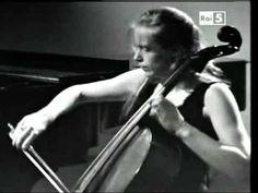 jacqueline du pré + daniel barenboim    brahms' cello sonata op.99 - 3rd mvt.