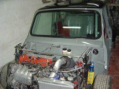 Austin Mini Hayabusa