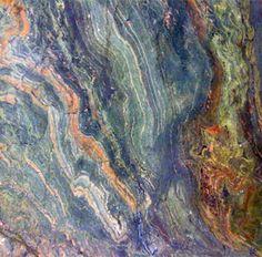 Exotic granite colors...