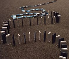 We could watch this for hours! See 10,000 iPhone fall like dominoes.