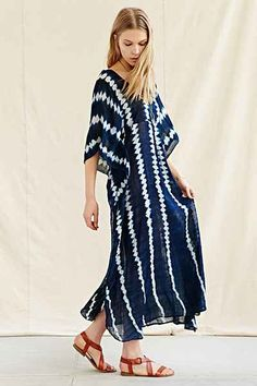 Proud Mary Shibori Caftan Dress - Urban Outfitters $179I really want a fantastic caftan for summer