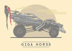 Giga Horse - Mad Max: Fury Road - Stuart Shaw