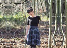 Schnittmuster: Kleid IVORY von Evli´s Needle Ich hab einen neuen Lieblingsschnitt! ♥ Obwohl ich, Aufgrund des tiefen Rückenausschnitts, zuerst eher skeptisch war, ob der neue Schnitt von Evli´s Nee…