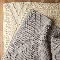 Shale Macrame Wool Rug | Serena & Lily