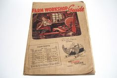1944 Winnipeg Canada Farm Workshop Guide Magazine Ads Agriculture Grain Growers by okanaganvintage on Etsy