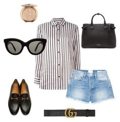 """""""frst d"""" by miumiudeleeuw on Polyvore featuring Isabel Marant, Frame, Gucci, Victoria Beckham and Burberry"""