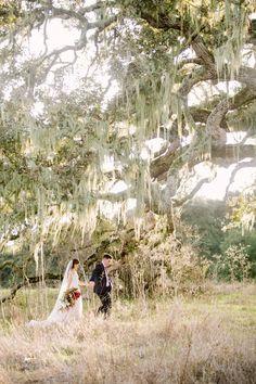 Rustic fall forest wedding at Santa Lucia Preserve in Carmel, magical wedding site