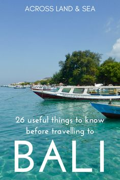 26 useful things to know before travelling to Bali
