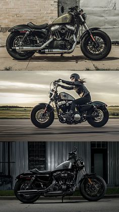Make no mistake, this is a brawler with attitude dripping from every element of its bones. #DarkCustom | 2016 Harley-Davidson Forty-Eight