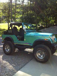 1980 CJ5 Jeep - looks like Bill's old CJ