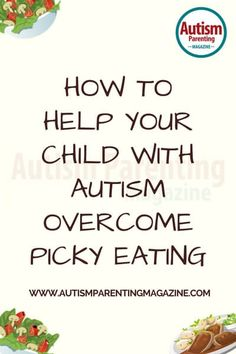 Having a hard time encouraging your autistic child eat new food? We& created this guide to help you better understand the relationship of autism and picky eating, and how to overcome it. Autism Diet, Autism Help, Autism Learning, Aspergers Autism, Autism Sensory, Adhd And Autism, Autism Parenting, Parenting Tips, Autism Facts