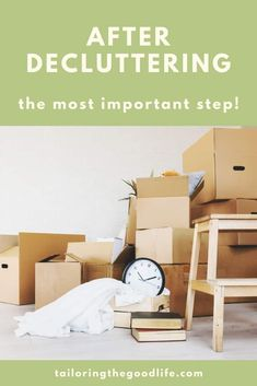 Read all about the most important step you have to schedule in when you declutter your home. No matter what method or checklist you use, don't forget this!