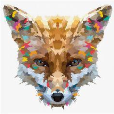 Fox print / Chicken Billy