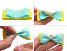 DIY Crafts : DIY make cute hair clips