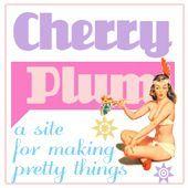 Les badges Cherry Plum