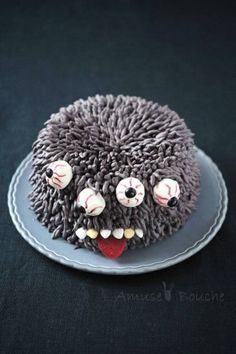Gâteau monstre Halloween / 10 gâteaux d'Halloween redoutables de gourmandise