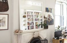 Silver Paint Makeover - Living Room Makeover