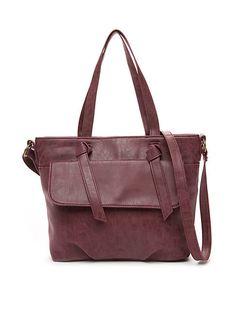 39e468edae3f JOY Smart   Chic Leather Handbag Set with Secret Section and More ...