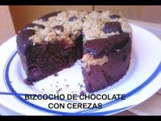 Bizcocho de chocolate y cerezas con streusel de avellanas Cake, Desserts, Albums, Food, Chocolate Sponge Cake, Sweets, Deserts, Cherries, Kuchen