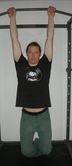 More pull-up info:  Why Unpacking the Shoulder in Pull Ups Is Helpful