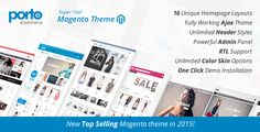 Download Here: http://themeforest.net/item/porto-ultimate-responsive-magento-theme/9725864?ref=avtar-singh Magento 1.7.x – 1.9.1.1 Ready! Responsive Magento Theme & Retina Ready Unlimited Color Options Only free Google Fonts over 300 Easy Install Sample Data Fluid Product Grid 2 – 8 Columns