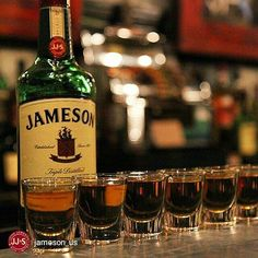 Ireland, Jameson's home, and we're proud of St. Patrick's Day, but we're not picky about how you celebrate. Cigars And Whiskey, Scotch Whiskey, Whiskey Bottle, Vodka Bottle, Gin, Irish Whiskey Brands, Jameson Distillery, Alcohol, Whiskey Cocktails