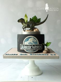 Jurassic World  - Cake by Louise Jackson Cake Design