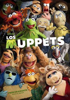"""Ver película Los Muppets 1 online latino 2011 gratis VK completa HD sin cortes descargar audio español latino online. Género: Comedia, Cine familiar Sinopsis: """"Los Muppets 1 online latino 2011"""". Durante sus vacaciones en Los Ángeles, Walter, el fan número uno de los Muppet"""