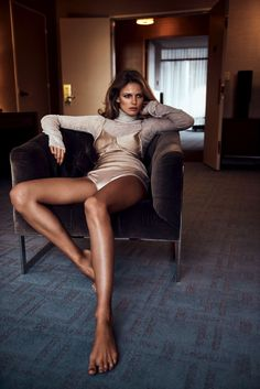 Sultry goddess Edita Vilkeviciute is styled in feminine, pastel lingerie looks by Geraldine Saglio for 'The Secrets of Desire'. Photographer Lachlan Bailey flashes the sensual vision for Vogue Japan July Hair by Shon; makeup by Sally Branka