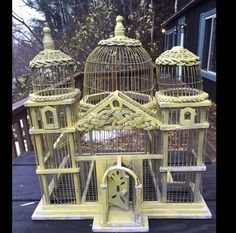 Vintage birdcage Vintage Birdcage, The Caged Bird Sings, Save Our Earth, Decorative Bird Houses, Tweet Tweet, Bird Cages, Cute Birds, Nests, Shabby Chic Style