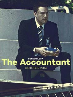 """the accountant"" movie If out on DVD before Christmas it's a big one on Christopher's Christmas list."