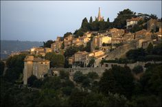 The Provence region of France is without a doubt one of the most beautiful in the world. Pictured here is the village of Bonnieux.