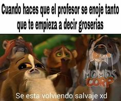Ah pasado :'v xd Haha Funny, Funny Jokes, Troll, Funny Images, Funny Pictures, Spanish Memes, Really Funny, Funny Comics, Dankest Memes
