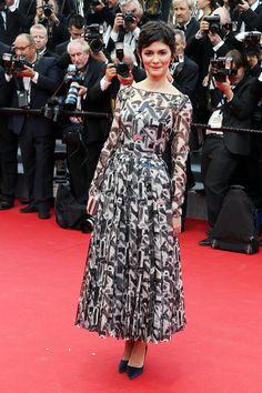 Vogue Daily — Audrey Tautou in Prada