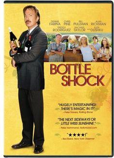 """Bottle Shock - Um filme que conta de forma divertida a história do """"Julgamento de Paris"""" do ponto de vista do produtor do Chateau Montelena, Jim Barrett. Tudo um pouco romanceado mas belo programa para um final de semana ao lado de um bom vinho."""